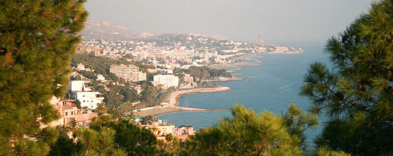 Este best neighborhood to stay in Malaga