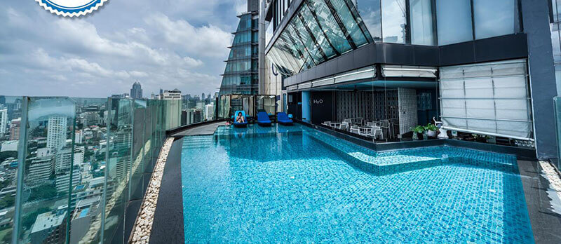 Best Luxury Hotels in Bangkok with Infinity Pool: The Continent Bangkok