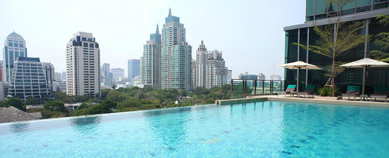 Best Luxury Hotels in Bangkok with Infinity Pool: Sivatel
