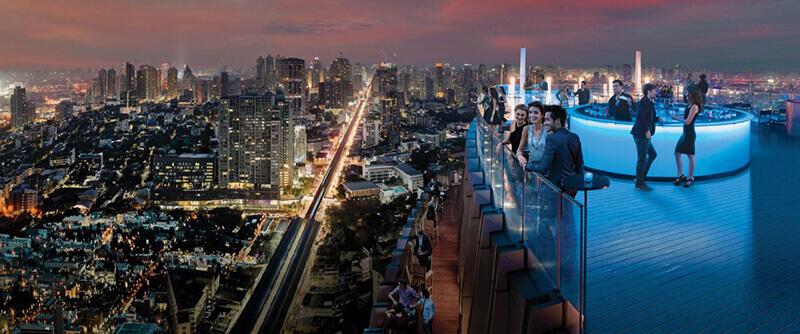 Best Luxury Hotels in Bangkok with Infinity Pool:  Bangkok Marriott Hotel Sukhumvit