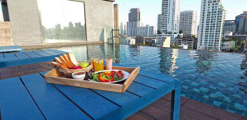 Best Luxury Hotels in Bangkok with Infinity Pool: Residence on Thonglor by UHG