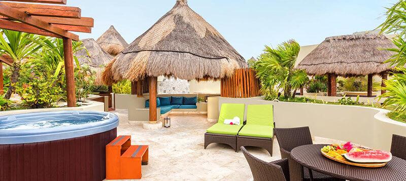 luxury family hotel Maya Villa Condo Hotel and Beachclub