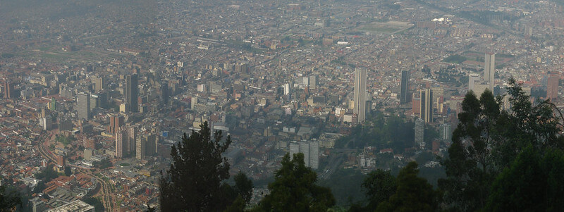 Where To Stay In Bogota Colombia : Santa Fe