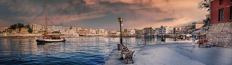 Where to Stay in Crete Greece: Chania Venetian Harbour