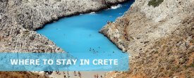 Where to Stay in Crete Greece for the First Time –  Best Area to Stay in Crete