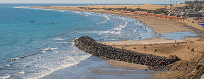 Where to Stay in Gran Canaria in February: maspalomas