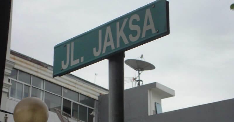 Where to Stay in Jakarta: Jalan Jaksa Jakarta