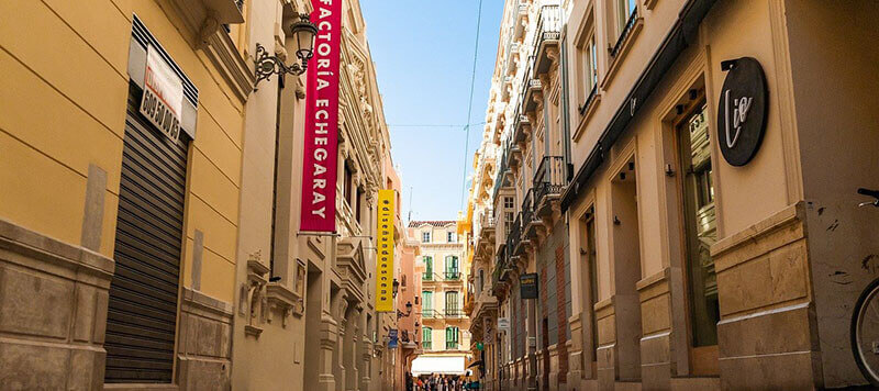 where to stay in malaga centro