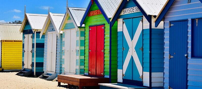 Where to Stay in Melbourne:  Brighton Beach