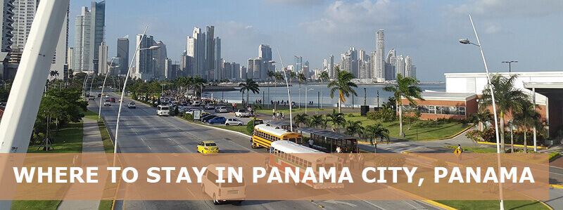 Where to stay in Panama city Panama