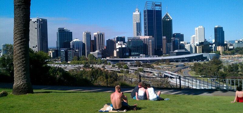 Where to Stay in Perth Western Australia: Park in Perth