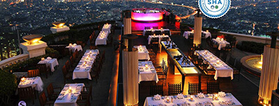 Best Hotels in Bangkok: lebua at State Tower (The World's First Vertical Destination)
