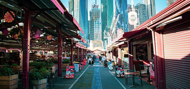 2 Days in Melbourne Itinerary: Queen Victoria Market Melbourne