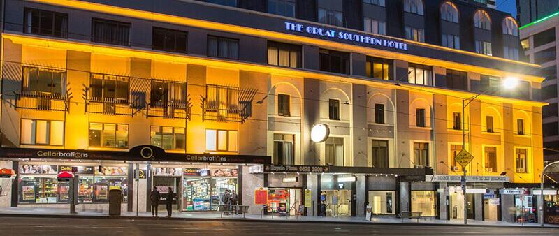 Best Cheap Backpacker Hostels in Melbourne CBD: Great Southern Hotel Melbourne