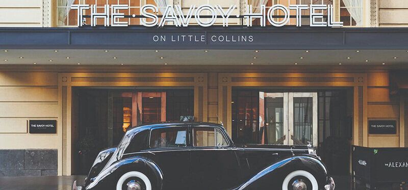 Best Luxury Hotel in Melbourne CBD: The Savoy Hotel on Little Collins Melbourne