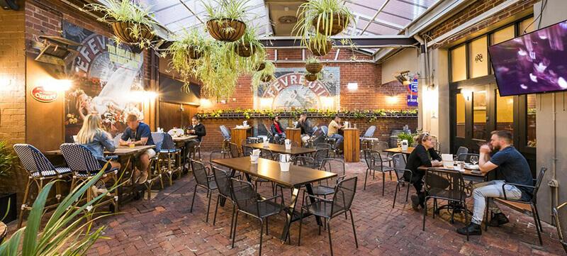 Best Hotels in Perth Australia: Nightcap at Belgian Beer Cafe Perth Hotel
