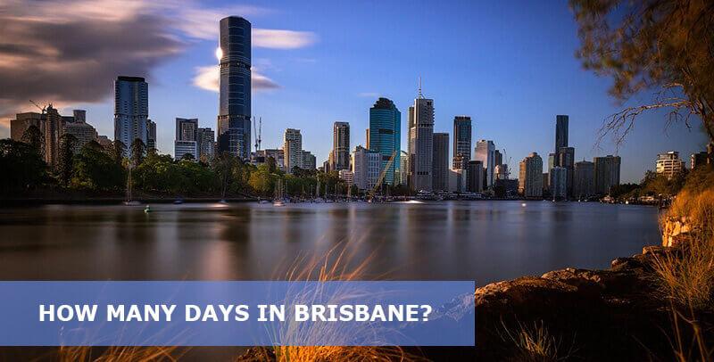 how many days in brisbane