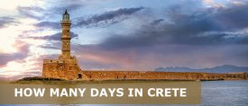 How Many Days in Crete –  3 Days in Crete Itinerary