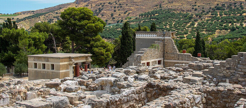 How Many Days in Crete: Knossos