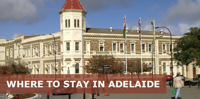 where to stay in adelaide australia