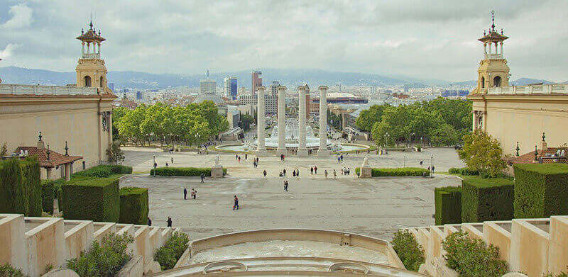Where to Stay in Barcelona, Spain: Montjuic