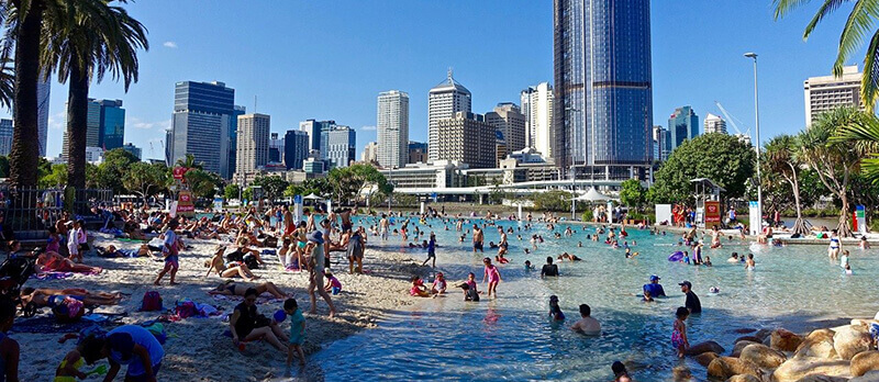 Where to Stay in Brisbane Australia: Southbank