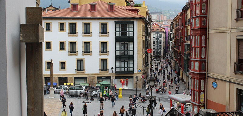 Where to Stay in Bilbao Spain Casco Viejo