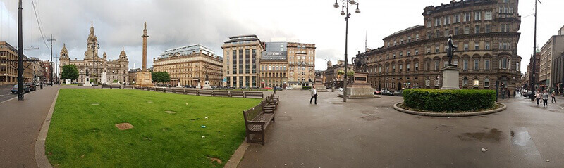 Where to Stay in Glasgow – George Square