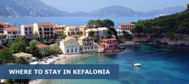 Where to Stay in Kefalonia Greece: Best Area & Hotel Travel Guide
