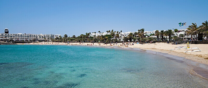 Where To Stay In Lanzarote Spain: Costa Teguise