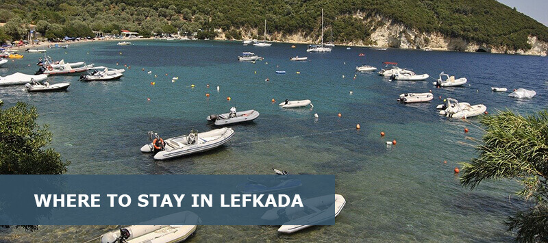 Where to Stay in Lefkada Greece