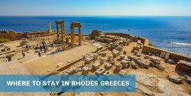Where to Stay in Rhodes Greece: Best Area & Hotel Travel Guide