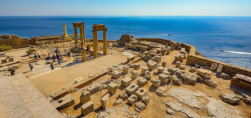 Where to Stay in Rhodes Greece: Lindos