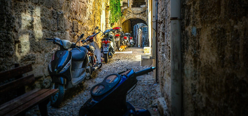 Where to Stay in Rhodes Greece: Rhodes Town