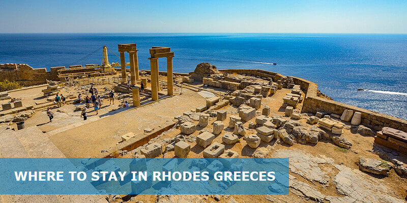 Where to Stay in Rhodes Greece