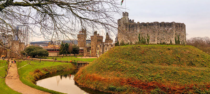 Where to Stay in Cardiff, UK:  CAstle