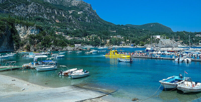 Where To Stay in Corfu, Greece Paleokastritsa