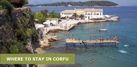 Where To Stay in Corfu, Greece: Best Area & Hotel Travel Guide