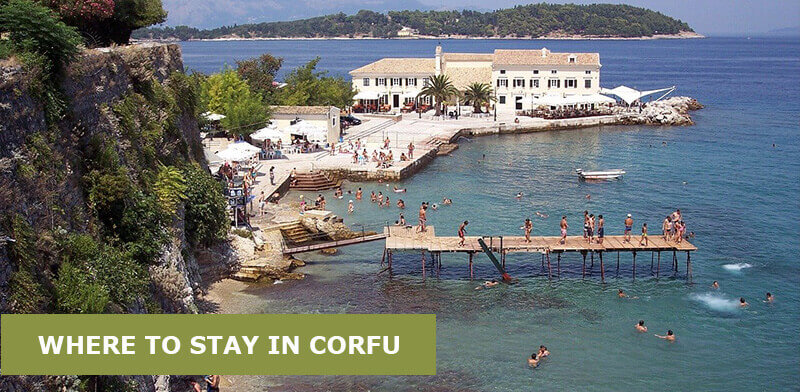 Where To Stay in Corfu, Greece