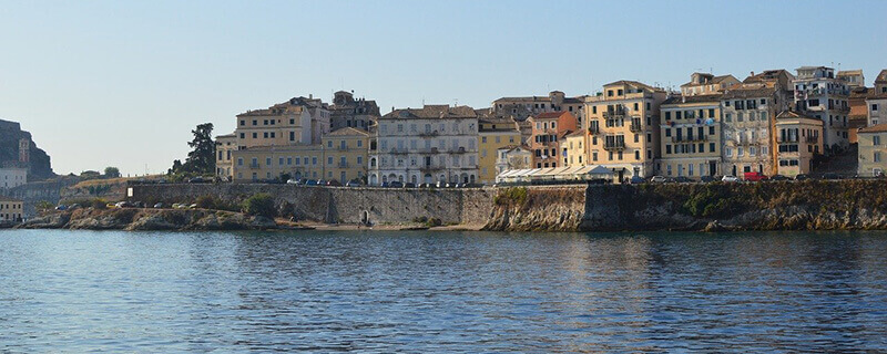 Where To Stay in Corfu, Greece town