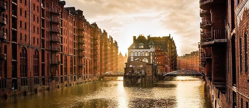 Where to Stay in Hamburg:  Speicherstadt