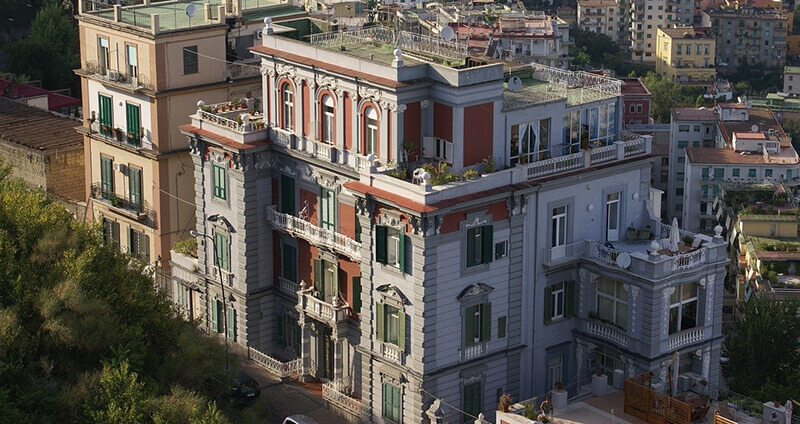 Where To Stay In Naples, Italy: vomero