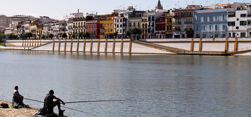Where to Stay in Seville Spain:  Triana