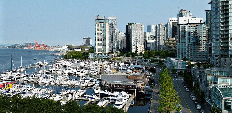 Where to Stay in Vancouver, Canada: Coal Harbour