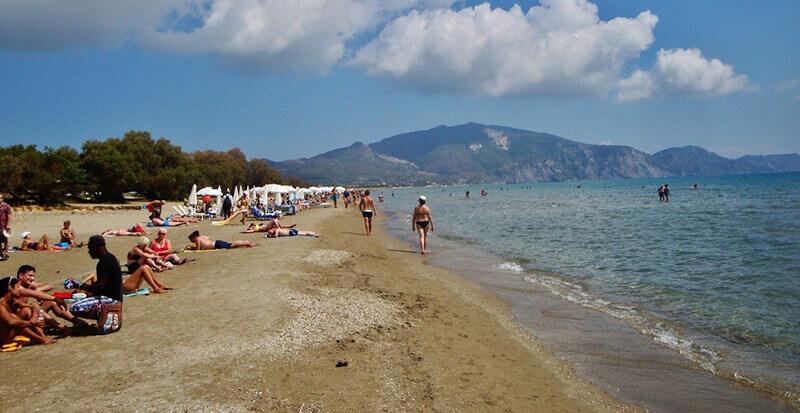 Where to Stay in Zakynthos, Greece:  Laganas