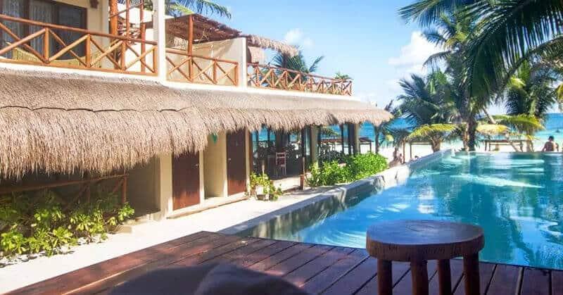 Best Beachfront Hotels In Tulum:  Dune Boutique Hotel