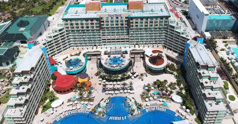 Best Hotels In Cancun For Partying: Hard Rock Hotel Cancun – All Inclusive
