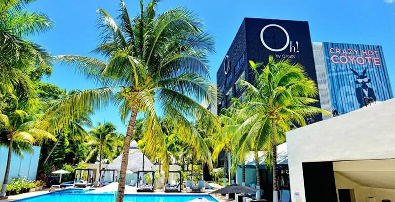 Best Hotels In Cancun For Partying: Oh! Cancun – The Urban Oasis