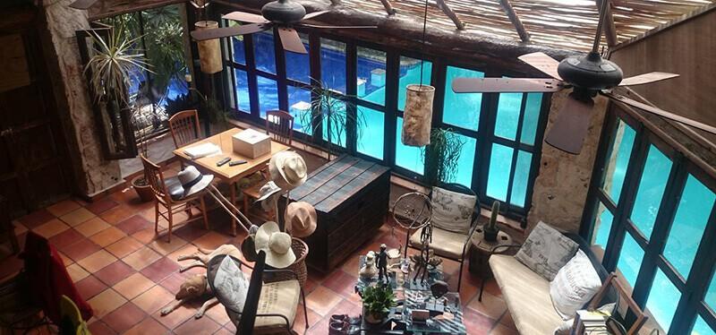 Best Hotels Near Cancun Airport: Casa en la Selva a 15 min aeropuerto